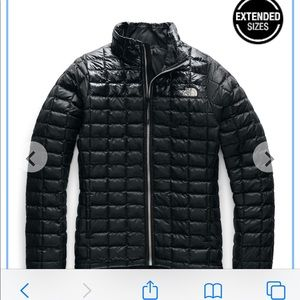 North face woman's thermoball eco jacket.